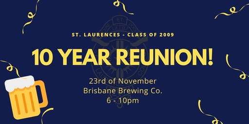 Laurie's 10 Year Smash It Reunion