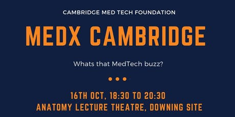 MEDxCambridge: What's that MedTech buzz? tickets