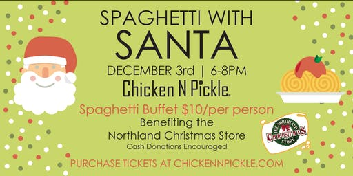 Spaghetti with Santa!