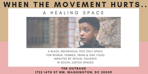 When The Movement Hurts...A Healing Space