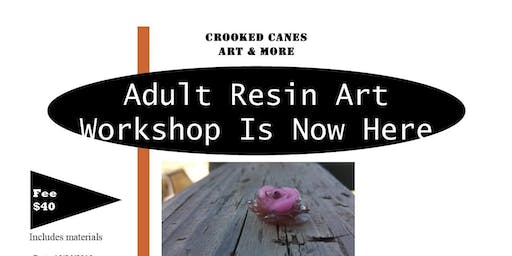 Resin Art Workshop for adults