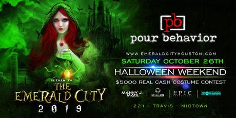 RETURN TO THE EMERALD CITY 2019 - Houston Halloween Party tickets