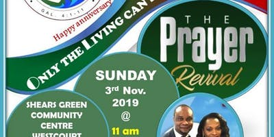TRAC Anniversary Prayer Revival Ceremony