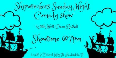 ShipWreckers Comedy Show tickets