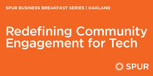Redefining community engagement for tech