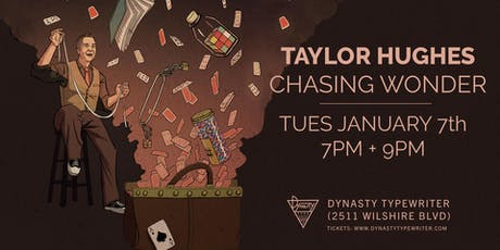 Taylor Hughes: Chasing Wonder (Live Special Taping) tickets