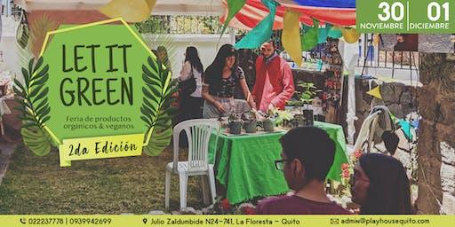 Let It Green 2: Feria de productos orgánicos y veganos
