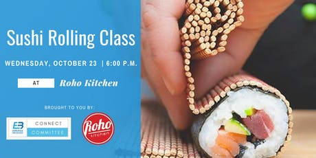 Sushi Rolling Class at Roho Kitchen tickets