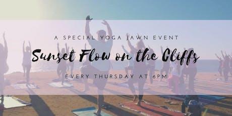 Final Class of the season! Thursday Sunset Yoga on the Cliffs tickets