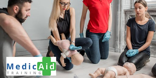 Baby & Toddler First Aid Course 9-12pm or 1-4pm