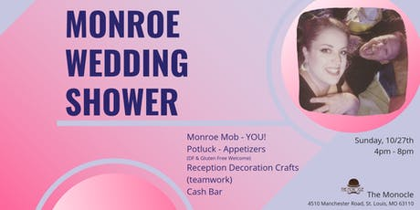 Monroe Meowage Shower tickets