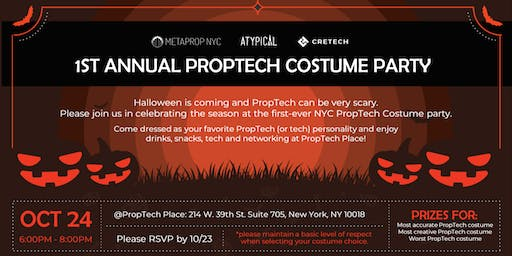 1st Annual PropTech Costume Party