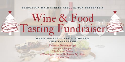 Wine & Food Tasting Fundraiser