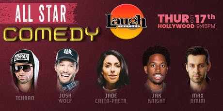 Max Amini, Jade Catta-Preta, and more - All-Star Comedy tickets