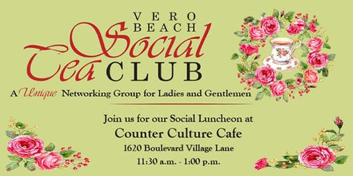 Vero Beach Social Tea Club Luncheon