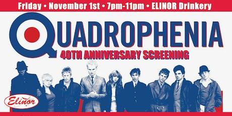 Quadrophenia 40th Anniversary Screening tickets
