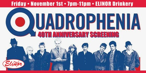 Quadrophenia 40th Anniversary Screening