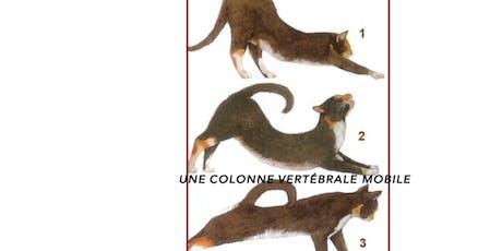 """Atelier FELDENKRAIS du samedi: """"La colonne vertébrale - l'axe et la spirale"""" billets"""
