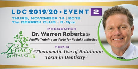 """""""Therapeutic Use of Botulinum Toxin in Dentistry"""" - Dr. Warren Roberts - Clinical Director 