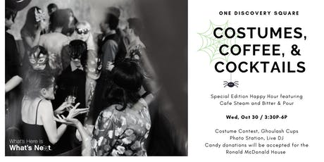 Costumes, Coffee, & Cocktails: Special Edition Happy Hour tickets