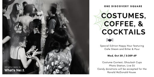 Costumes, Coffee, & Cocktails: Special Edition Happy Hour