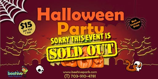 Halloween Party *SOLD OUT*