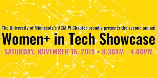 Women+ in Tech Showcase 2019