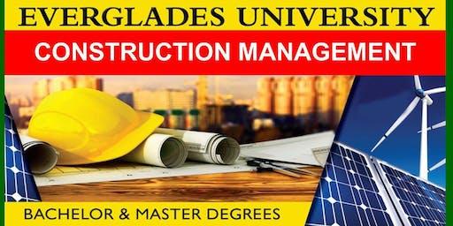 Everglades University Sarasota  Construction Management Open House