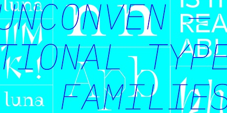 Unconventional Type Families with Marta Bernstein tickets