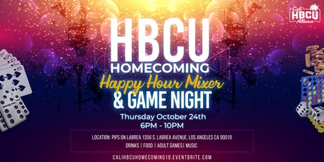 Cali HBCU Homecoming Happy Hour Mixer tickets