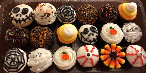 New Halloween/Fall Cupcake Workshop - Saturday