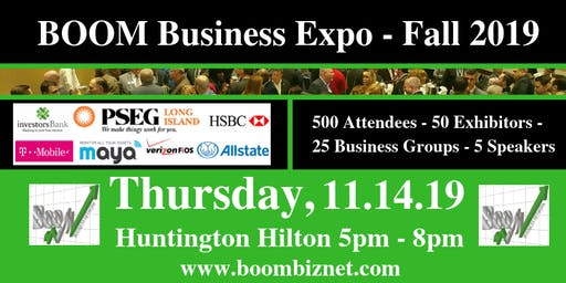 BOOM Business Expo - 11.14.19