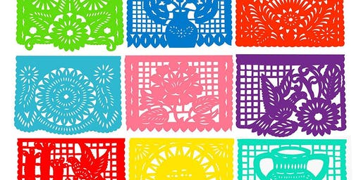 Half Term Craft Session - Papel Picado Papercut Flags