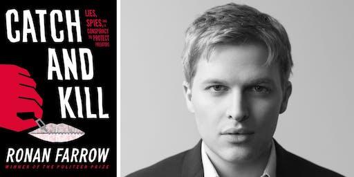 "Ronan Farrow: ""Catch and Kill"" Book Discussion"