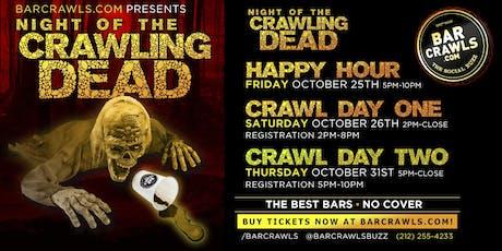 Boston Hallloween Bar Crawl Day 1 Presented by Barcrawls.com tickets
