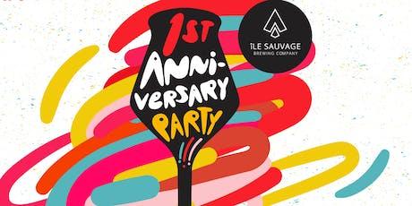 Île Sauvage 1st Anniversary tickets