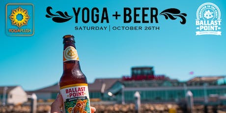 Yoga + Beer @ Ballast Point tickets