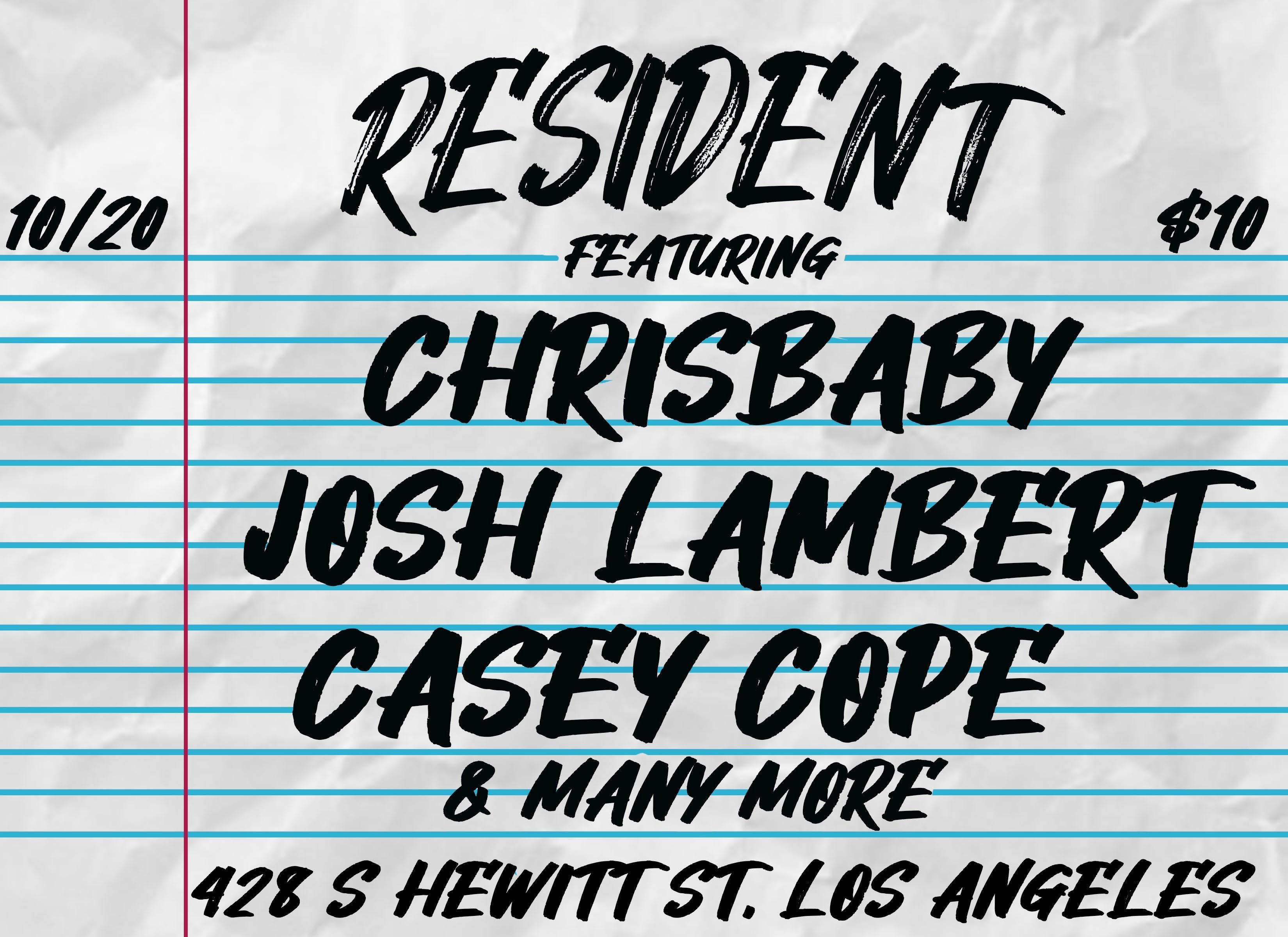 Chrisbaby, Josh Lambert, Casey Code