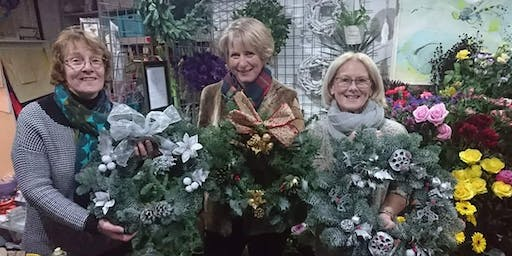 (SOLD OUT) Festive Wreath Workshop - Wreath Making 8/12/19 4pm