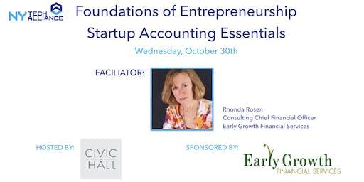 NYTA Foundations of Entrepreneurship - Startup Accounting Essentials