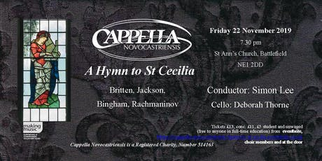 A Hymn to St Cecilia tickets
