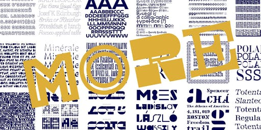 More is More, Sometimes. In Defense of Display Typefaces.