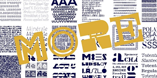 More is More, Sometimes: In Defense of Display Typefaces