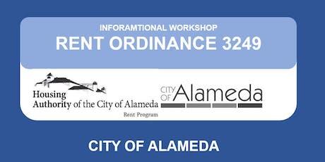 City of Alameda Informational  Workshop tickets
