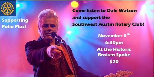 Rotary Austin-Southwest with Music from Dale Watson