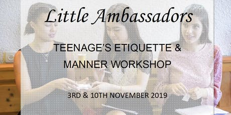Etiquette and manner workshop tickets