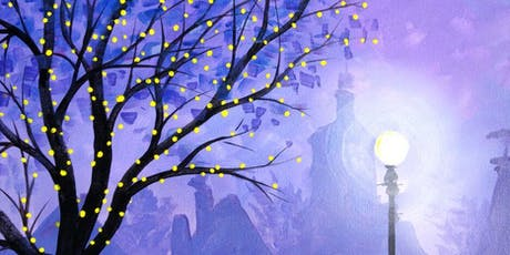Winter Lights Paint, Pies & Prosecco Brush Party - Newbury tickets