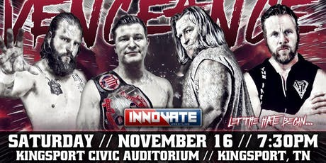 Innovate Wrestling Acts of Vengeance tickets