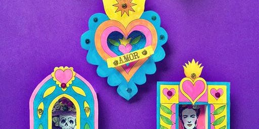 Half Term Craft Session - Decorative Mexican Frames