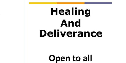 Care Day: Healing and Deliverance Service